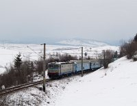 The CFR 40-0857-9 between Izvorul Olt and Izvoru Muresului