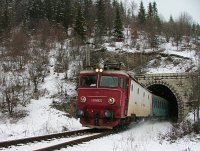 The CFR 40-0919-7 between Izvoru Muresului and Izvorul Olt