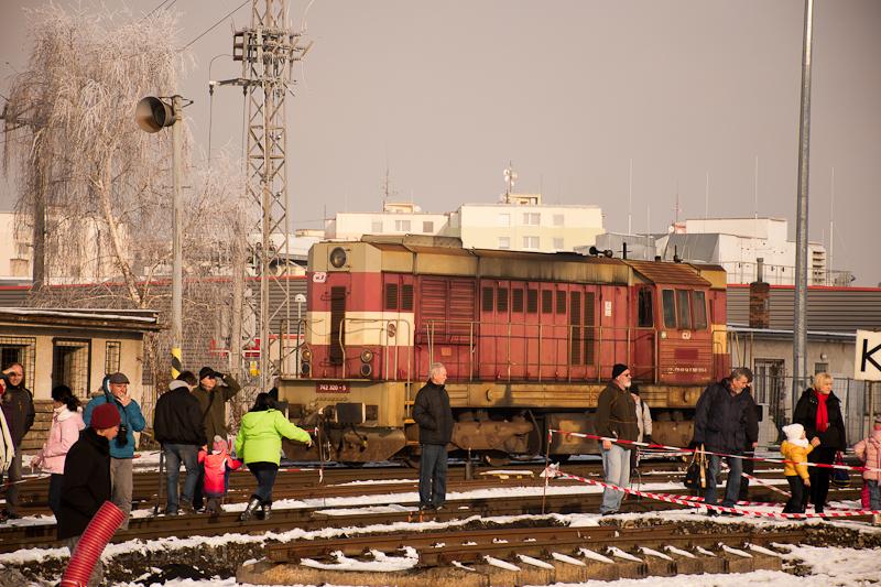 A ČD 742 320-5 Veselí nad Moravou állomáson fotó