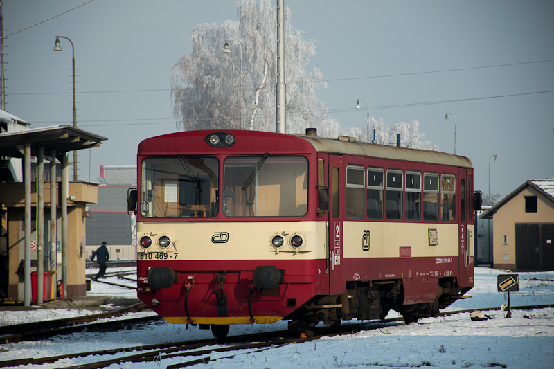 A ČD 810 469-7 Veselí nad Moravou állomáson fotó