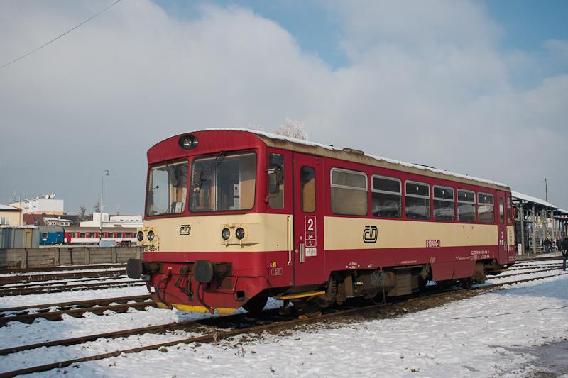 The ČD 810 486-1 seen  photo