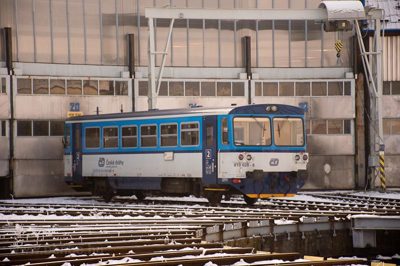 A ČD 810 628-8 Veselí  fotó