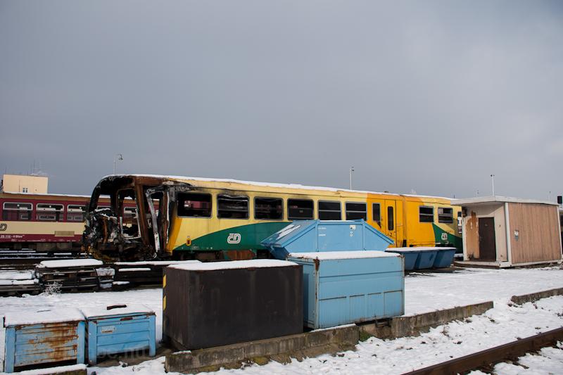 The ČD 814  209-3 seen photo