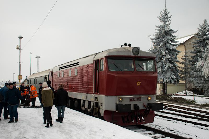 Az Albatros klub T478 1201 Veselí nad Moravou állomáson fotó
