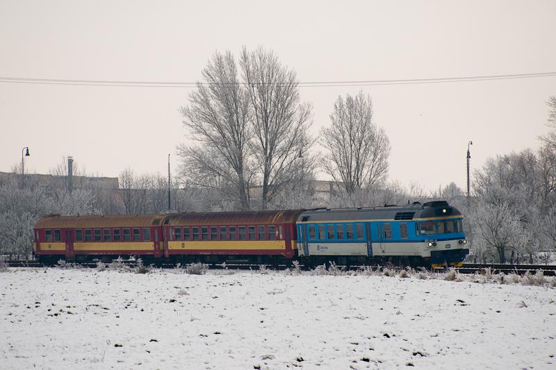 A ČD 854 207-8 Veselí nad Moravou és Bzenec között fotó