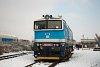 A ČD 750 719-7 Veselí nad Moravou állomáson