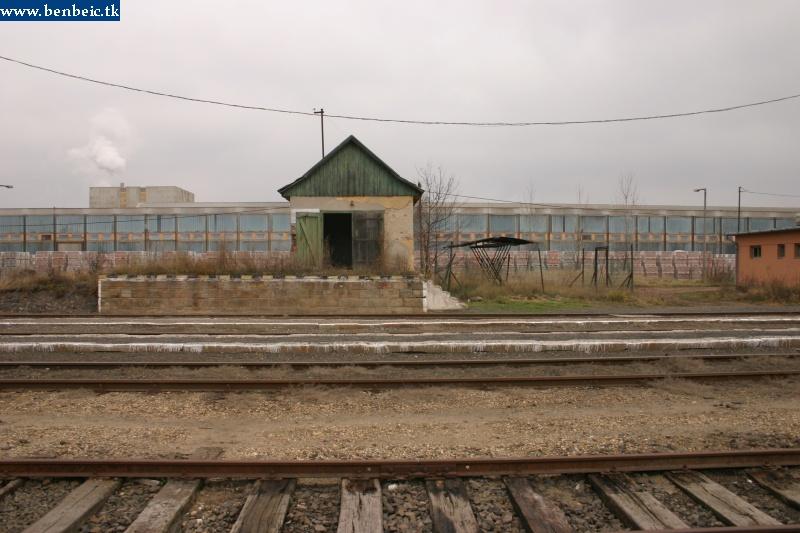 Raktár és oldalrakodó Romhányban fotó
