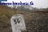 Distance marker near Tolmács