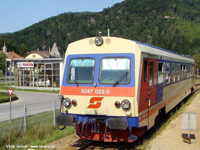 Lilienfeldben újra kereszteztünk, ezennel az 5047 022-8-al fotó