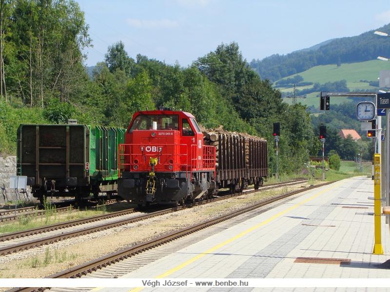 Az ÖBB 2070 045-6 Traisen állomáson fotó