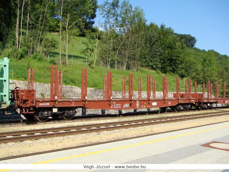 Szlovák Sps fás kocsi Traisen állomáson fotó
