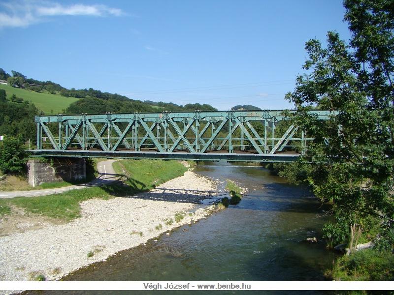 A Gölsen folyó hídja, Traisen mellett fotó