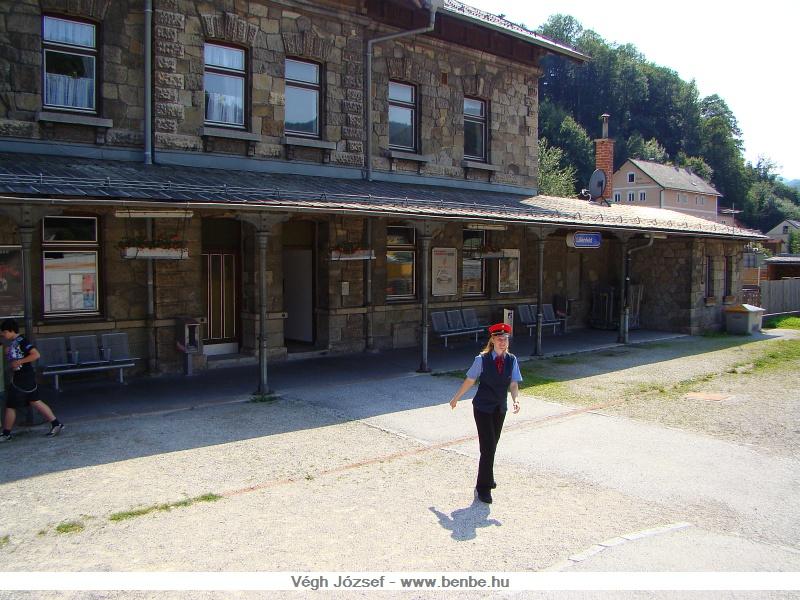 Lilienfeld vasútállomása fotó