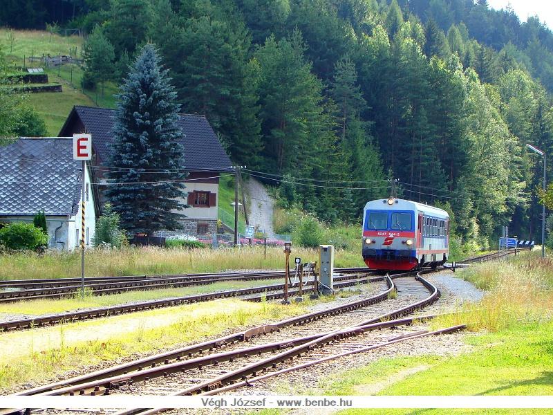 5047 044-2 St. Aegyd am Neuwalde állomáson fotó