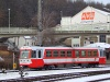 An BB 5090 015-8 railcar at St. Plten Alpenbahnhof
