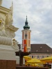 The Franciscan church at the Rathausplatz of St. P�lten