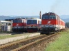 A 2413 029-3, a 2143 075-6 s az 5047 022-8 Spratzenben