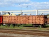 A MV Eas wagon brought scrap metal to a yard near Spratzen