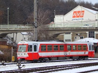 An �BB 5090 015-8 railcar at St. P�lten Alpenbahnhof