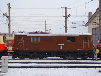 The tscherbar express locomotive 1099 007-5 <q>Mariazell</q> at St. Plten Alpenbahnhof