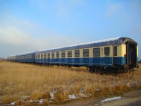 Stored passenger coaches near Spratzen