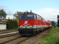 The ÖBB 2143 075-6 at Spratzen