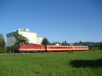 The BB 2143 028-3 near St. Georgen am Steinfeld  
