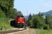 The BB 2070 045-6 at Traisen station