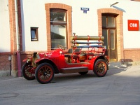 The Volunteer Firefighters&#39; car at Traisen
