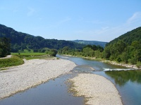 The Traisen river