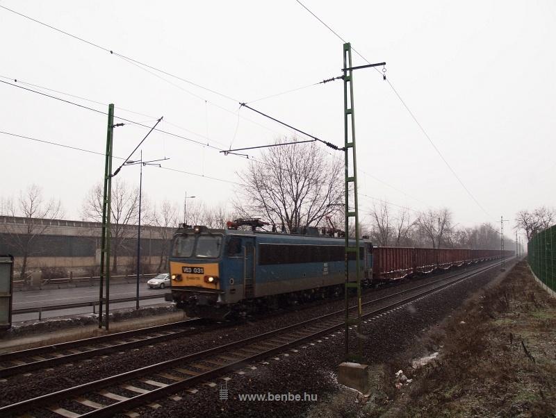 V63 031 Vecsés és Ferihegy között a nap egyetlen tehervonatával fotó