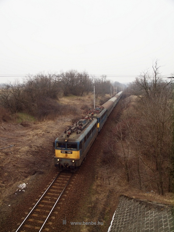 The V43 1167 between Szentgál and Városlőd photo