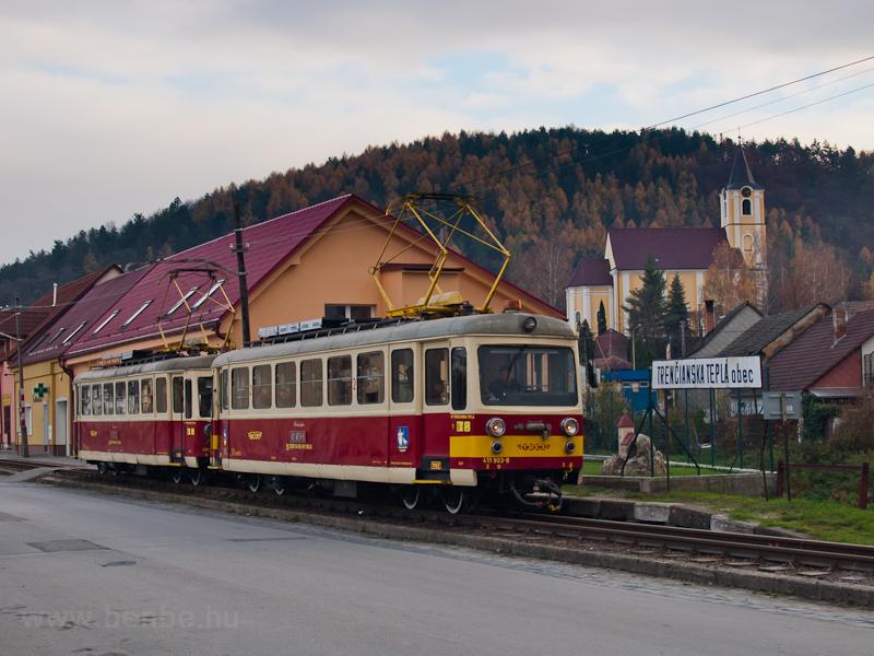 A TREŽ Felvidék 903-8 Hőlak megállóhelyen fotó