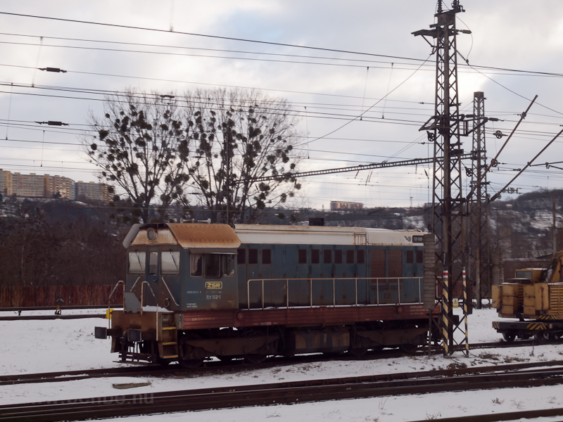 The ŽSR 721 602-1 seen photo