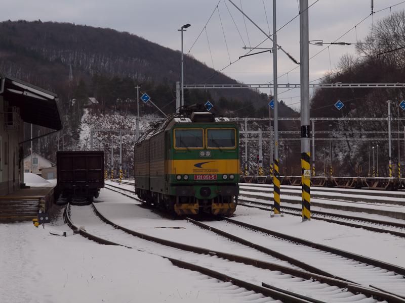 A ŽSSKC 131 051-5 Abos-Sároskőszeg állomáson fotó