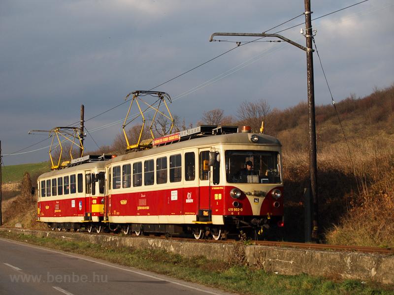 The TREŽ 411 902-0 see picture
