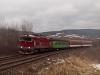 A ŽSSK 754 054-5 Felsőstubnya és Felsőstubnya megálló között