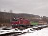 A ŽSSK 754 054-5 Felsőstubnya állomáson