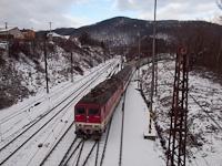 A ŽSSK 163 112-6 Abos-Sároskőszeg állomáson