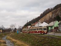 A TREŽ 411 902-0 Hőlak megállóhelyen