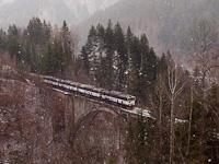 Négy ismeretlen, ŽSSKC 756 sorozatú Búvár mozdony Olmányfalva és Dolny Harmanec között