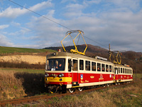 A TREŽ Felvidék 903-8 Trencsénteplicz Lakótelep és Kanovna között
