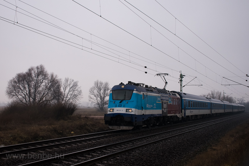 The ČD 380 013-3 seen  picture