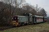 A Királyréti Erdei Vasút Mk48 2031 Kismaros KEV és Morgó között
