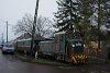 A Királyréti Erdei Vasút Mk48 2031 Szokolya-Mányoki megállóhelyen