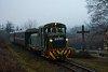 A Királyréti Erdei Vasút Mk48 2031 Szokolya-Mányoki és Hártókút között