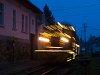 A Királyréti Erdei Vasút Mk48 2031 Szokolya-Riezner megállóhelyen