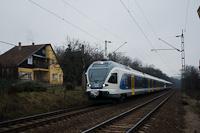 A MÁV-START 415 098 Kismaros és Nagymaros-Visegrád között