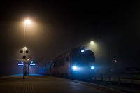 A MÁV-START 418 185 Óbuda állomáson