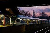 A MÁV-START 415 101 Kőbánya-Kispest állomáson